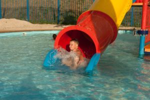 bebe nageur autonome