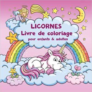 Coloriage De Licorne Deja Colorier.Licorne Dessin Peinture Et Magie