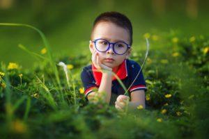 enfant reflexion