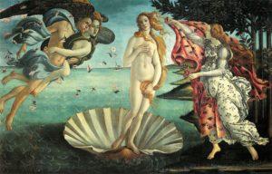 déesse vénus, inspiré par l'étoile du berger