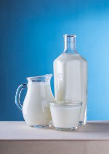 lait en pâtisserie