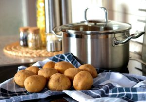 pomme de terre pour accompagner la fondue savoyarde